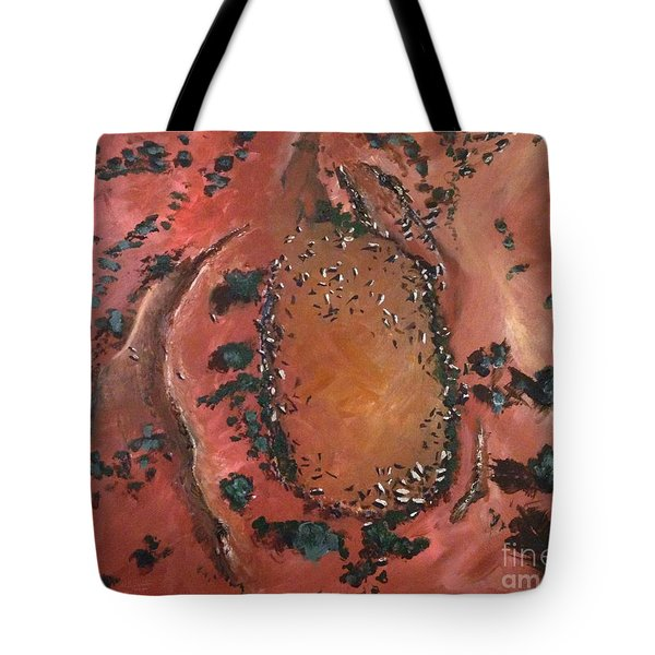 The Watering Hole - Original Sold Tote Bag