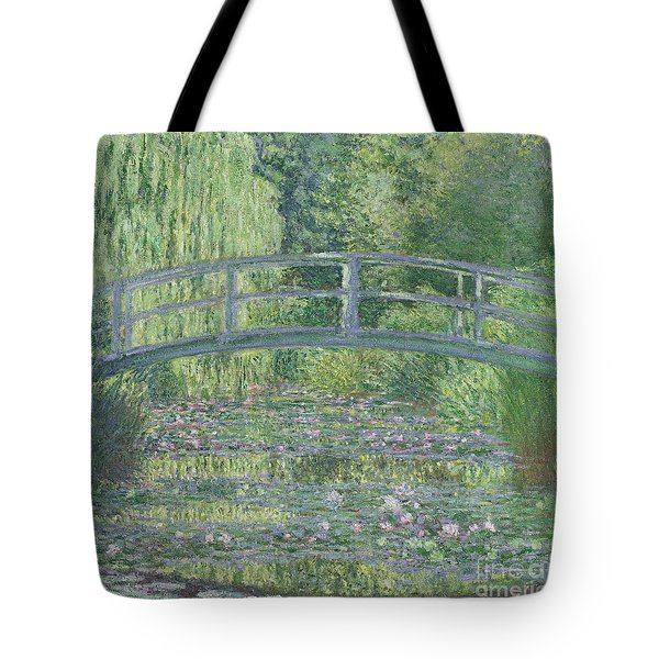 The Waterlily Pond Tote Bag