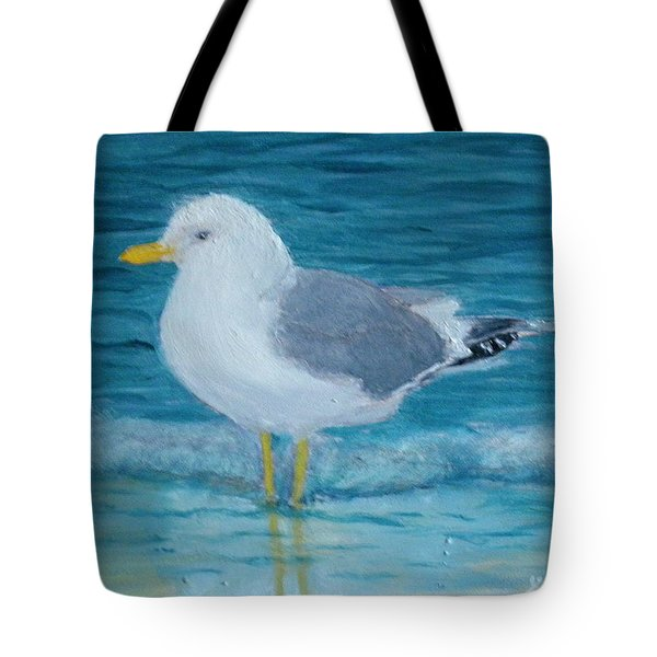 The Water's Cold Tote Bag