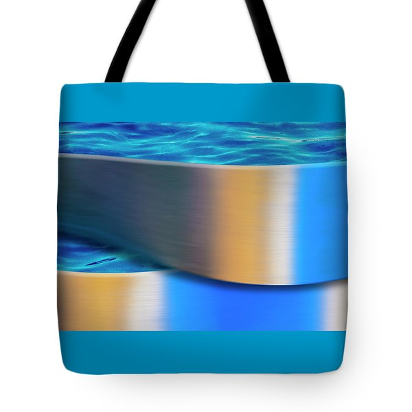 Tote Bag featuring the photograph The Waters Edge by Paul Wear