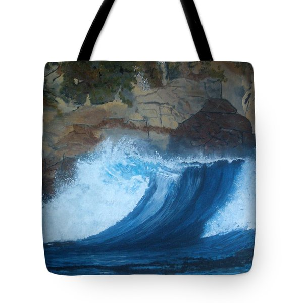 The Wave Tote Bag by Betty-Anne McDonald