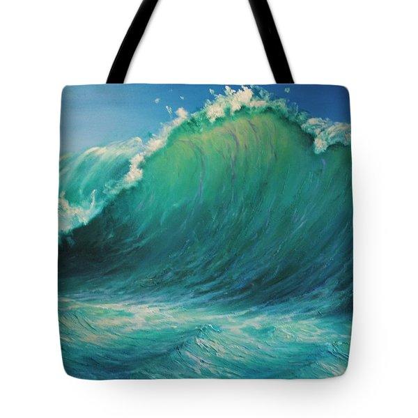 The Wave By Alan Zawacki Tote Bag