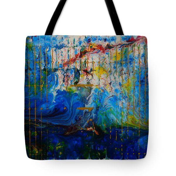 The Sound Wave Tote Bag
