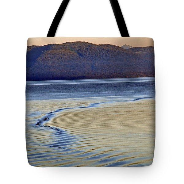 The Waves Tote Bag by Carol  Eliassen