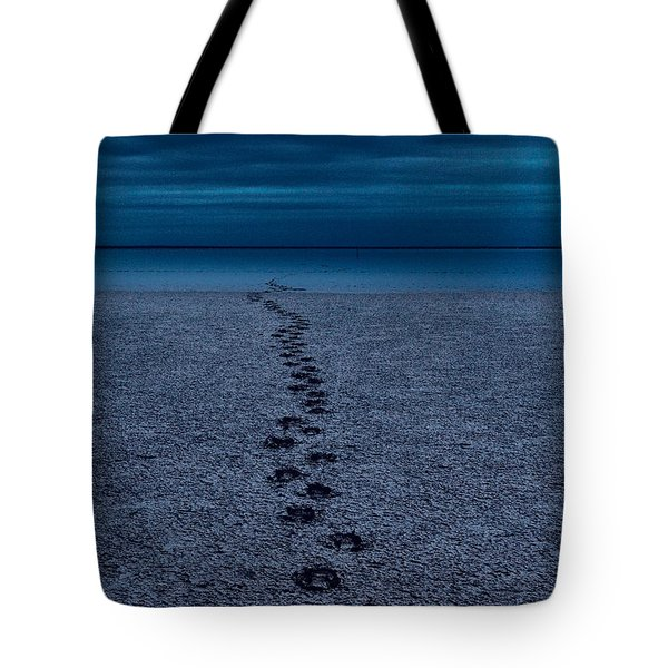 Tote Bag featuring the photograph The Way Back by Julian Cook