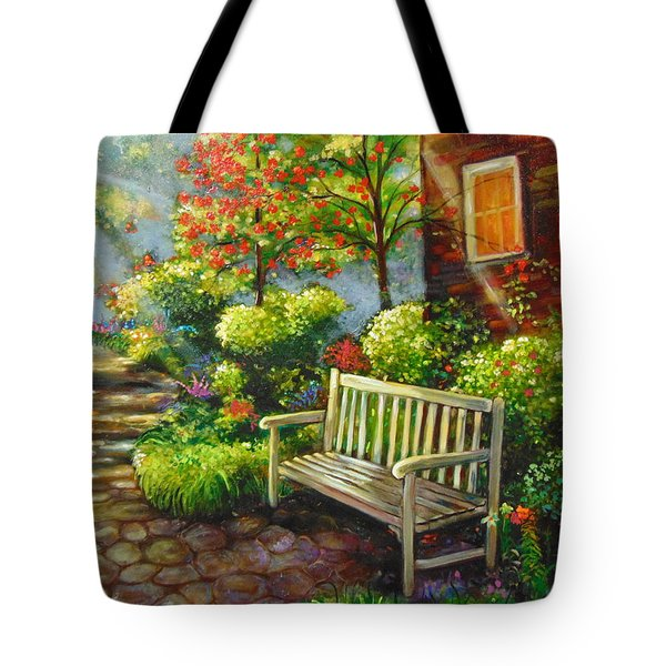 The Way Home Tote Bag by Emery Franklin
