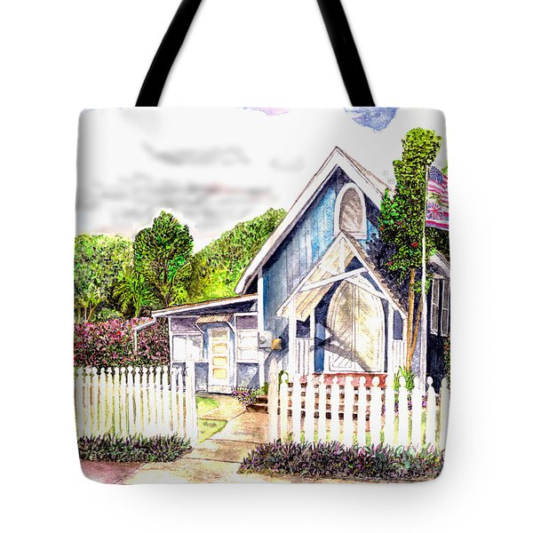 The Way Inn Tote Bag by Eric Samuelson
