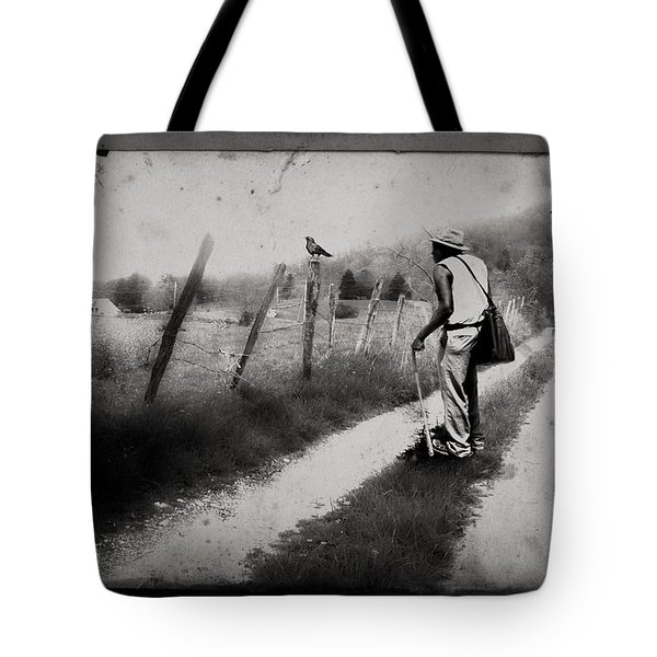 The Way Of The Crow Tote Bag by Gray  Artus