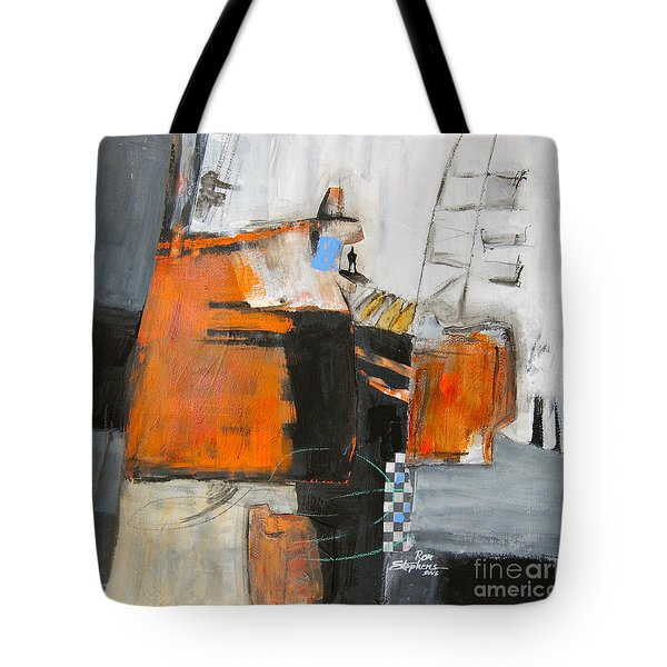 The Way Out Tote Bag by Ron Stephens