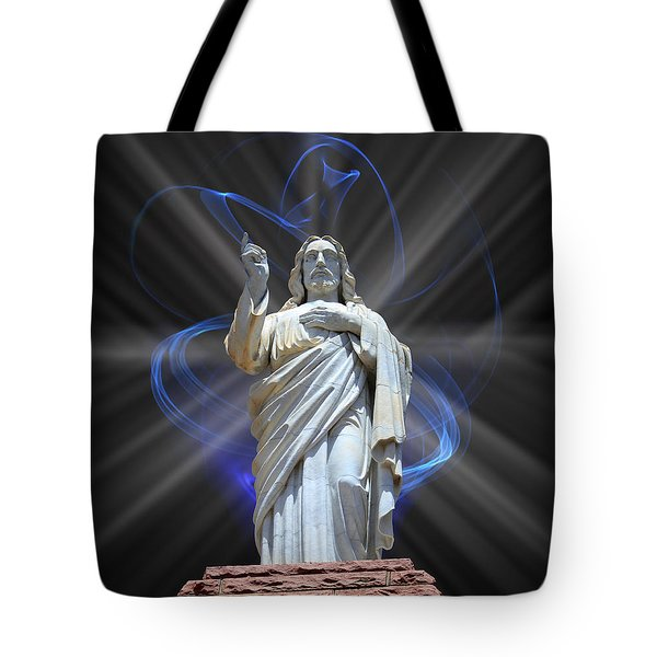 Tote Bag featuring the photograph The Way by Shane Bechler