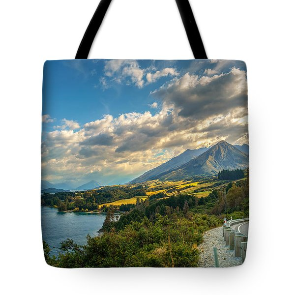 The Way To Glenorchy Tote Bag