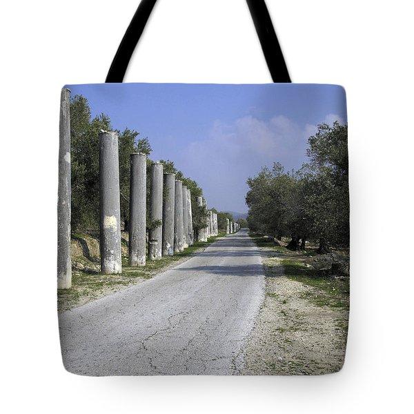 The Way To Sebastia Tote Bag