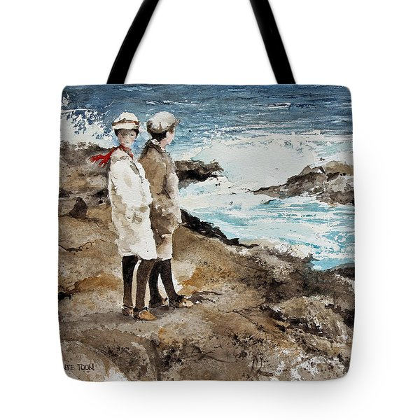 The Way We Were Tote Bag by Monte Toon