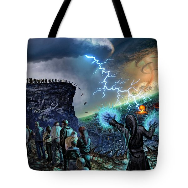 The Weak Shall Bring Us Down Tote Bag