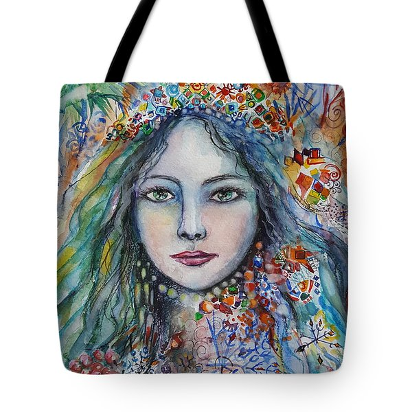Wealth Of Winter Tote Bag by Rita Fetisov