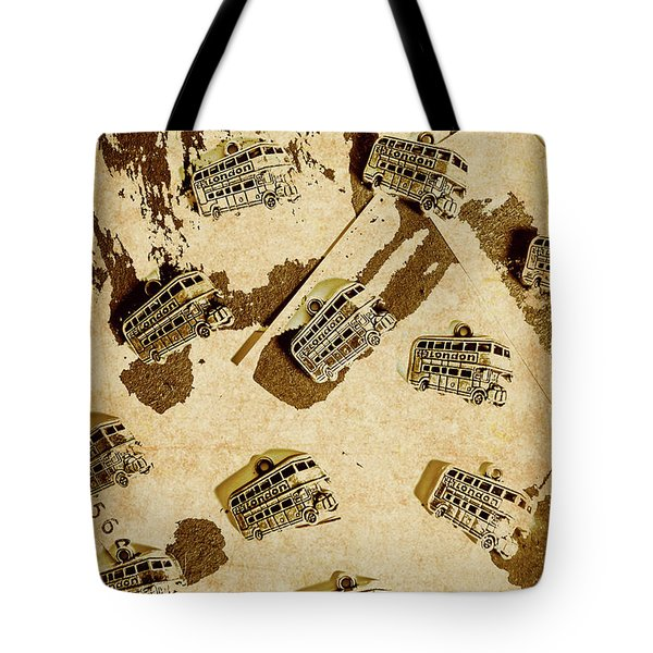 The Weathered Downtown Tote Bag
