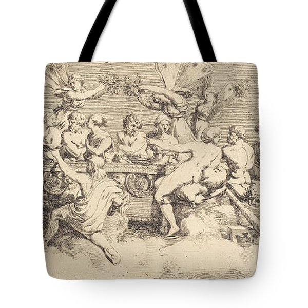The Wedding Feast Of Cupid And Psyche Tote Bag