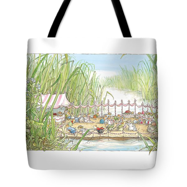 The Wedding Party Tote Bag by Brambly Hedge