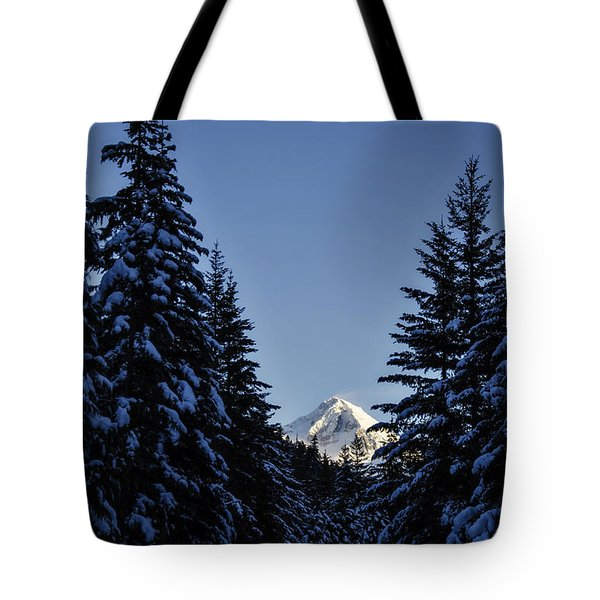 The Wedge Through The Trees Tote Bag