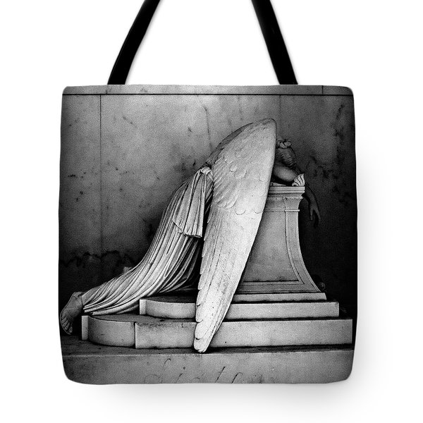 The Weeping Angel Tote Bag