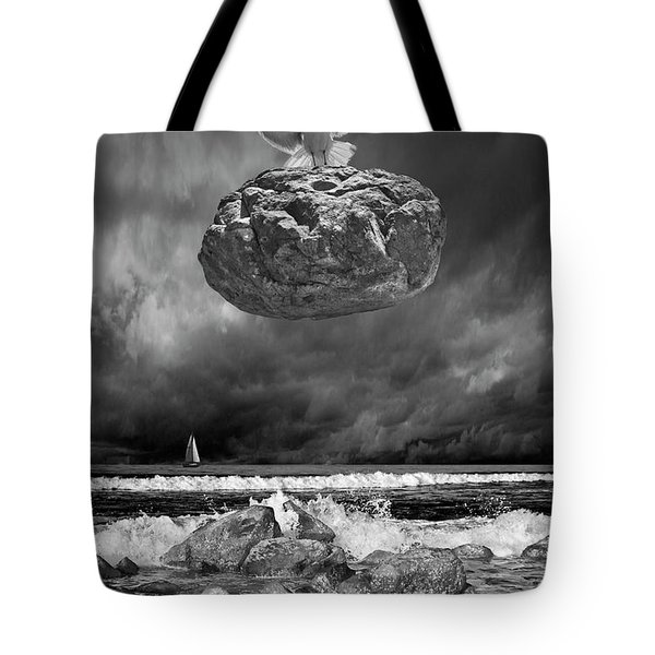 Tote Bag featuring the photograph The Weight Is Lifted by Randall Nyhof