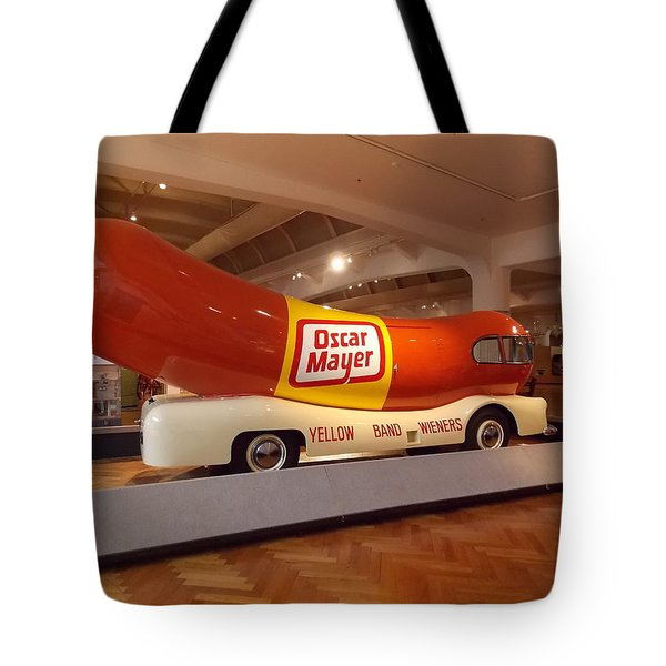 The Weinermobile 1 Tote Bag