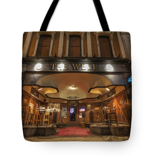 Tote Bag featuring the photograph The Well by Nicholas Grunas
