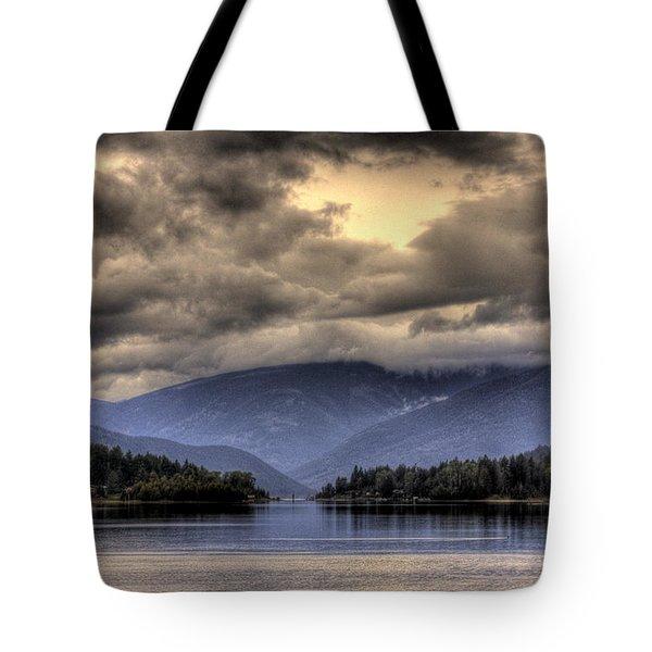 The West Arm Of Kootenai Lake Tote Bag