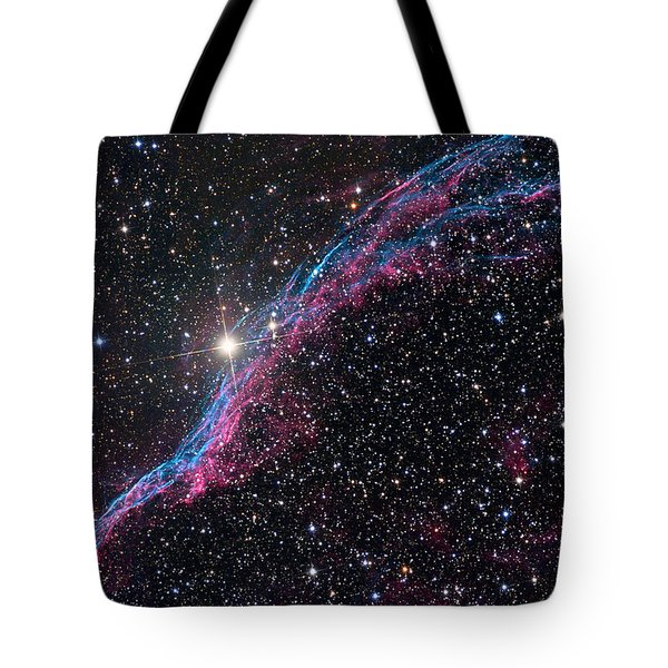 The Western Veil Nebula Tote Bag by Roth Ritter