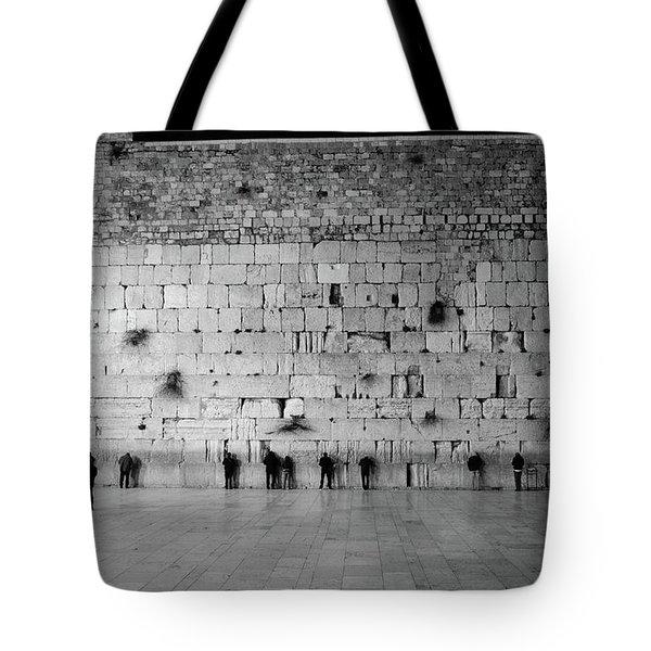 The Western Wall, Jerusalem 2 Tote Bag