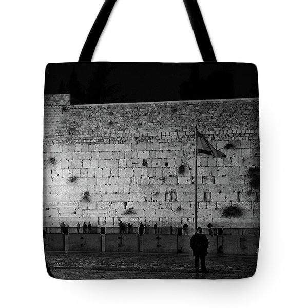 The Western Wall, Jerusalem Tote Bag