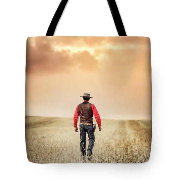 The Westerner Tote Bag