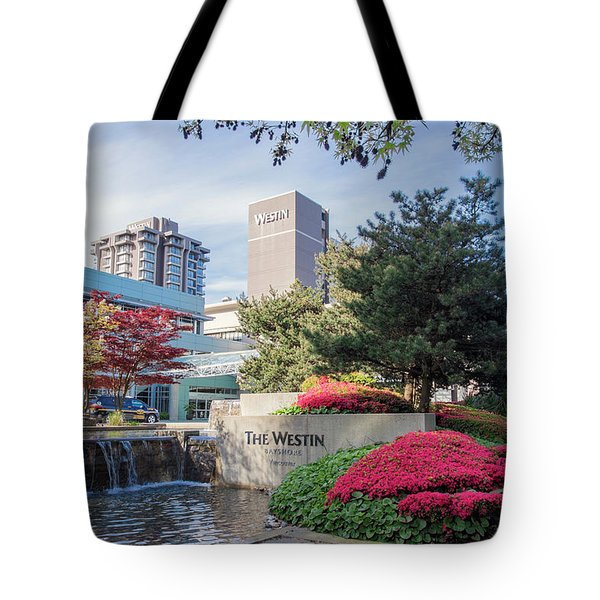 The Westin Bayshore Hoel Tote Bag
