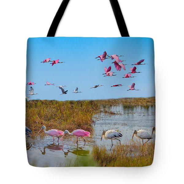 The Wetlands Tote Bag