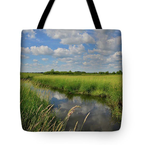 The Wetlands Of Hackmatack National Wildlife Refuge Tote Bag