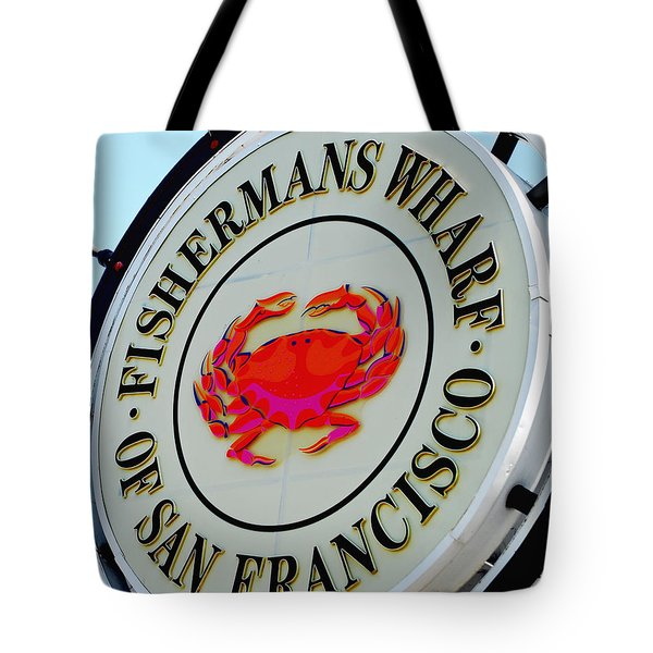 Tote Bag featuring the photograph The Wharf by Maggy Marsh