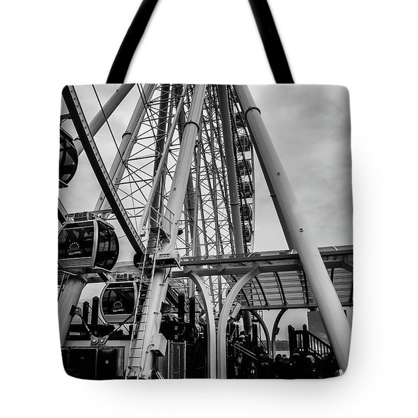 The Wheel Seattle  Tote Bag