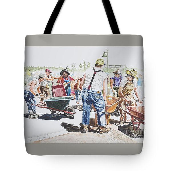The Wheelsbarrow Band Tote Bag