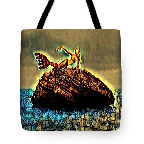 The Whisperer Tote Bag by Vennie Kocsis