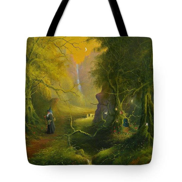 The Whispering Wood Tote Bag