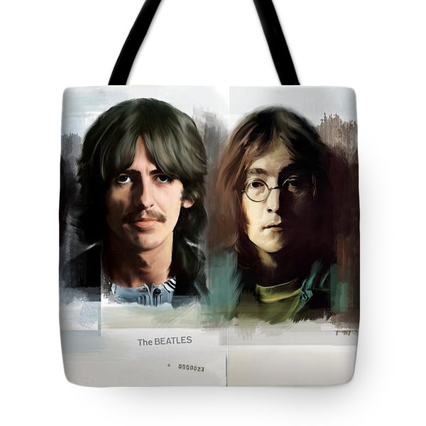 The White Album  The Beatles  Tote Bag