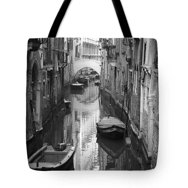 The White Bridge Tote Bag