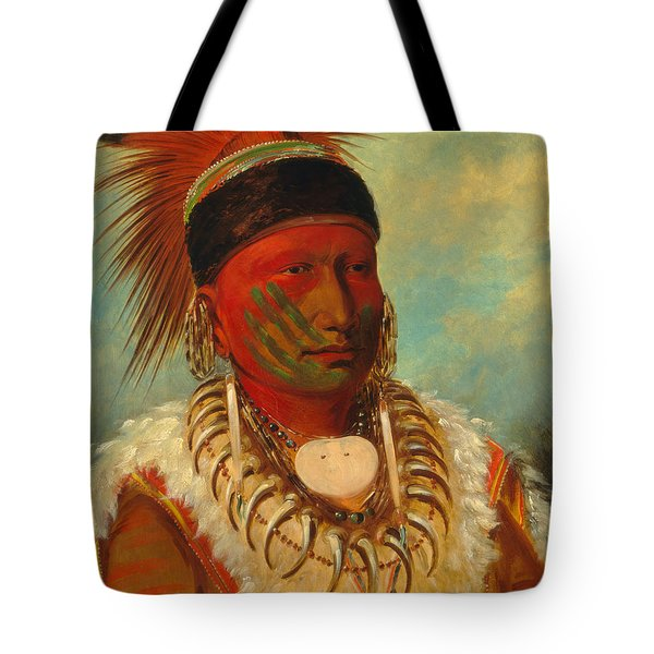 The White Cloud, Head Chief Of The Iowas Tote Bag