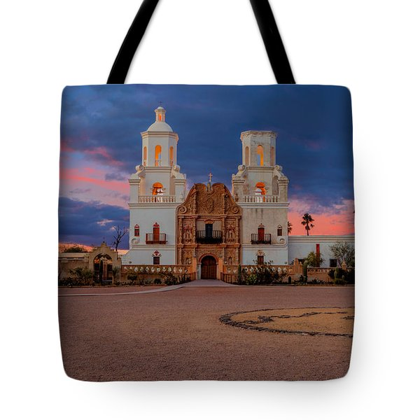 The White Dove Of The Desert Tote Bag