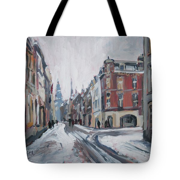 The White Grand Canal Street Maastricht Tote Bag