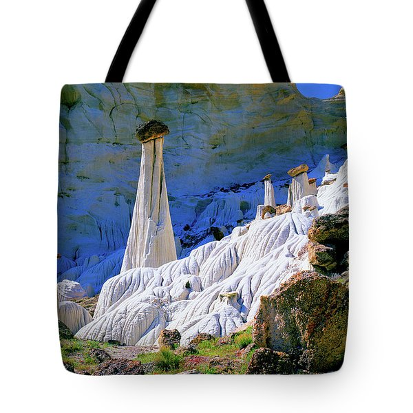 The White Hoodoos Tote Bag