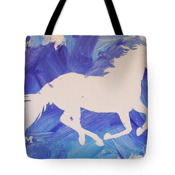 The White Horse Tote Bag