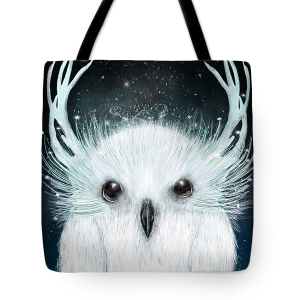 The White Owl Tote Bag