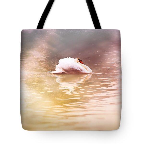 The White Pearl Tote Bag