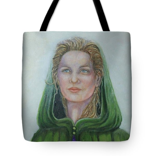 The White Rose Queen Tote Bag